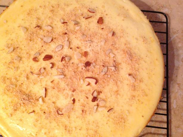 Almond Yogurt Cheesecake