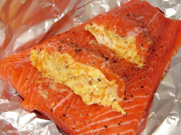 Caramelised Orange and Ginger Butter Trout