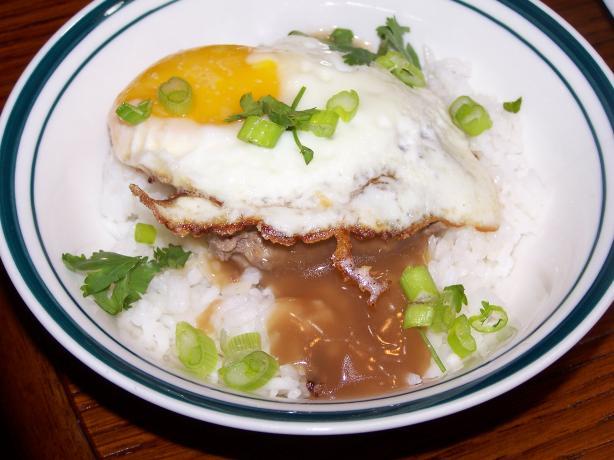 Hawaiian Loco Moco (Hearty Breakfast)