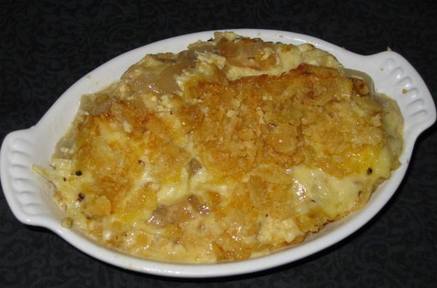 Walla Walla Sweet Onion-Swiss Cheese Casserole