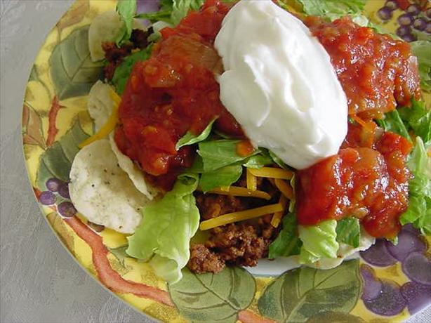Easier-Than-Making-Tacos Taco Salad