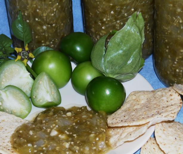 Salsa Verde--canning Recipe