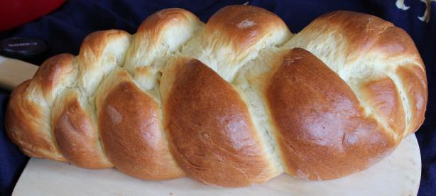 Brioche Loaf ( Breadmaker 1 1/2 Lb. Loaf)