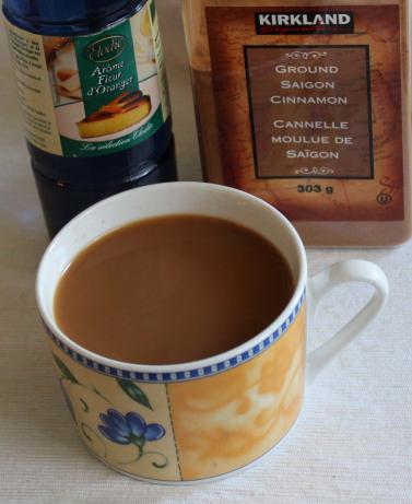 Moroccan Cinnamon Coffee With Orange Flower Water