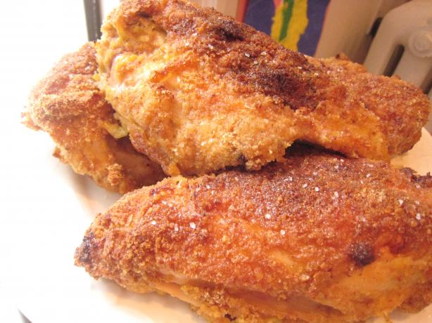 Oven Fried Southern Style Cinnamon Honey Chicken