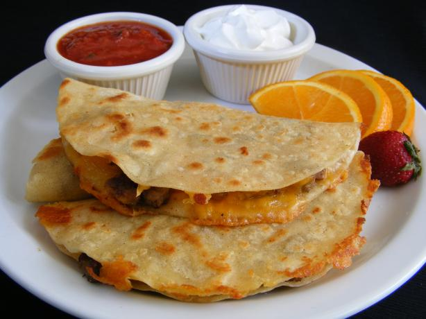 Sausage Cheese Quesadillas (Oamc)