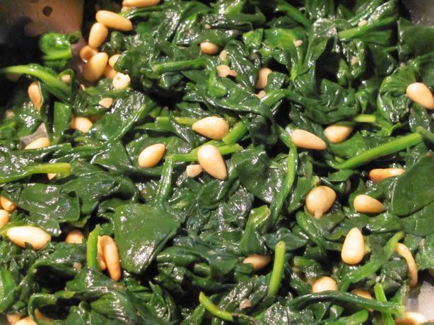 Italian-Style Spinach