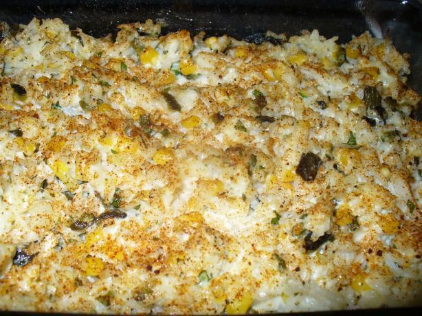 Creamy Elegant Rice Casserole