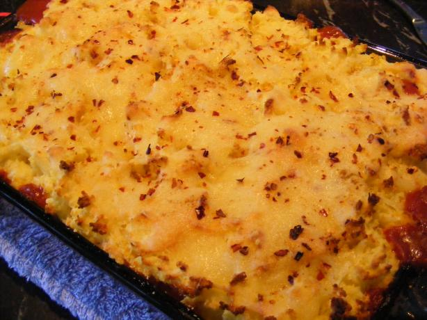 Chili Beef Cottage Pie
