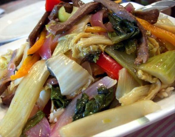 Veggie Beef Stir-Fry