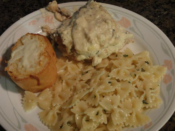 Baked Blue Cheese Chicken