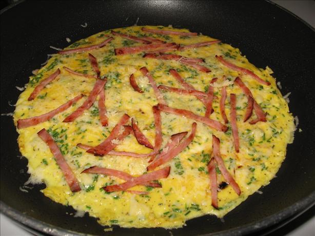 Omelet à La Ciboulette