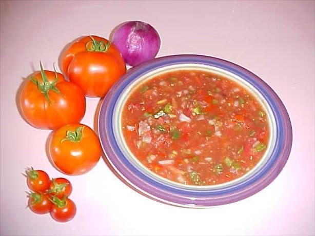 Fresh Homemade Garden Salsa