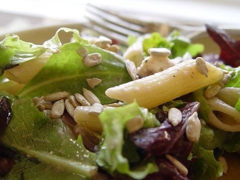 Stilton Cheese, Pasta and Walnut Salad