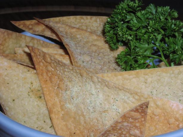 Savory Wonton Chips