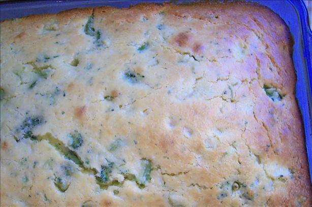 Mom's Broccoli Cornbread