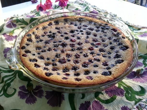 Almond Blackberry Tart