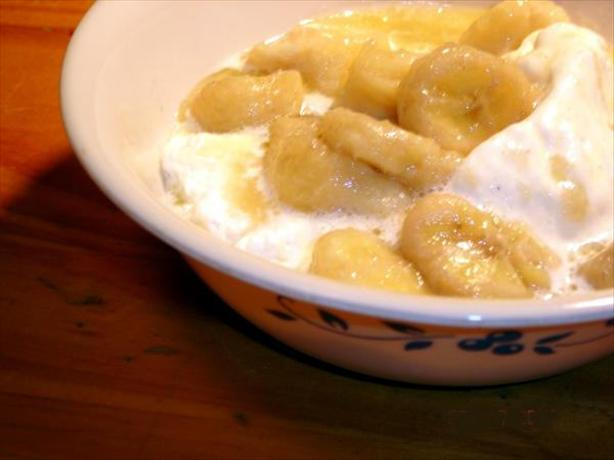 Crock Pot Bananas Foster