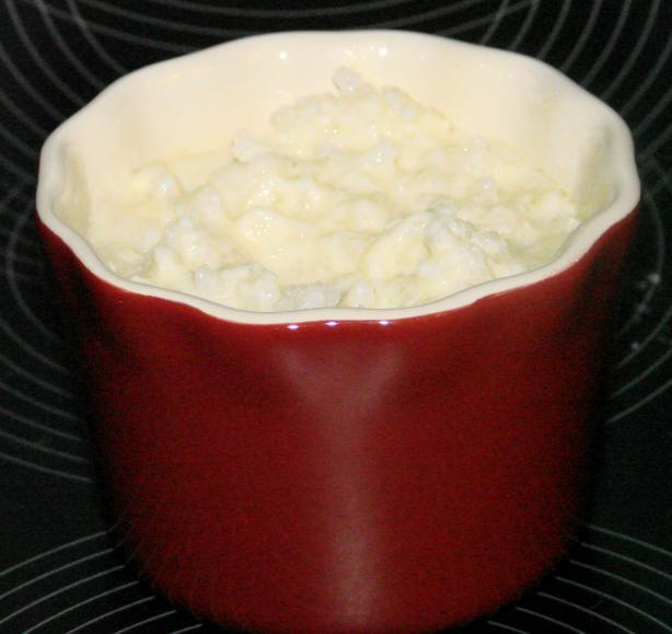 Creamy Rice Pudding (Microwave)
