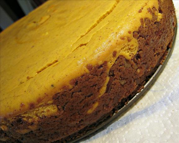 Pumpkin Cheesecake a La Martha Stewart