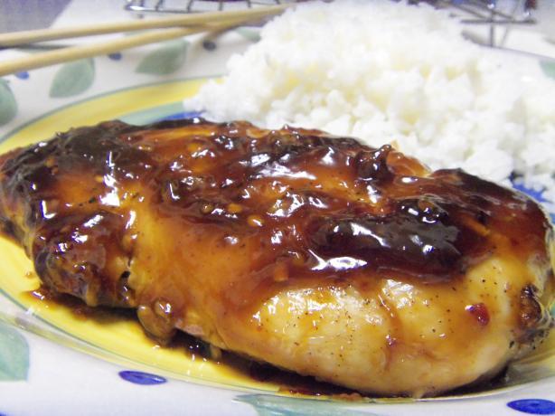 Yep, It's Spicy Glazed Chicken