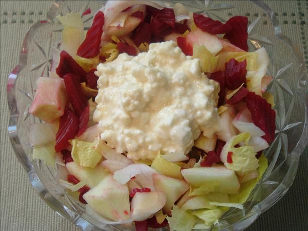 Belgian Endive and Beetroot Salad