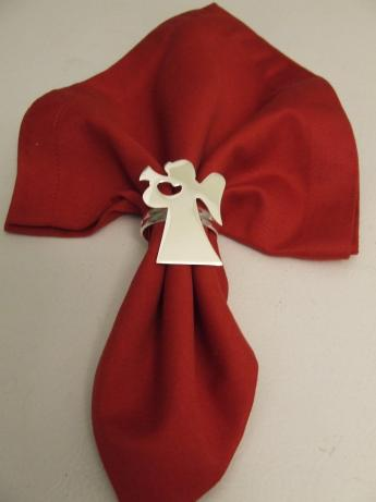 Serviette Napkin Folding , Basic With Napkin Ring
