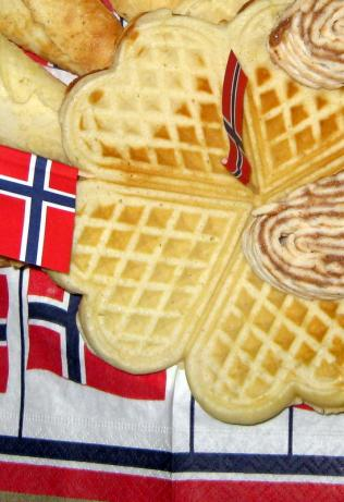 Yummy Norwegian Waffles