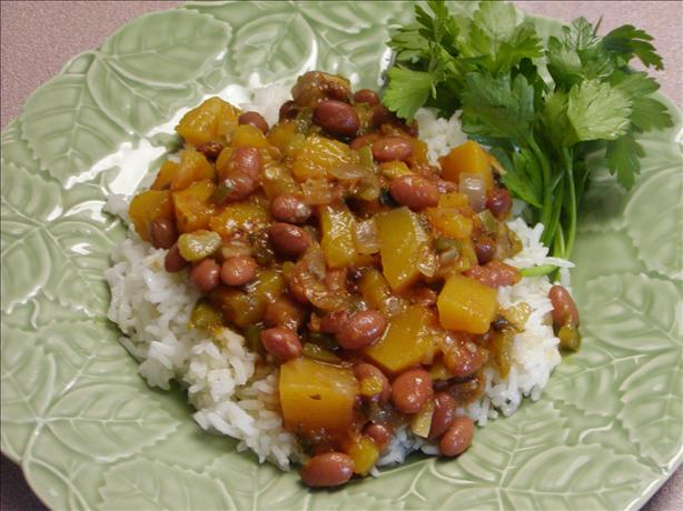 Puerto Rican Beans and Rice(Habichuelas Rosadas)
