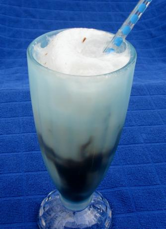 Chocolate Soda or Float (Fountain Style & Lightened)