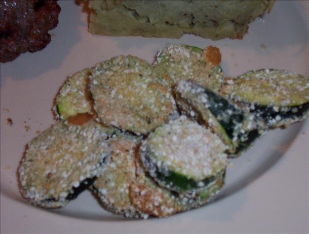 Oven-Baked Crispy Zucchini Rounds