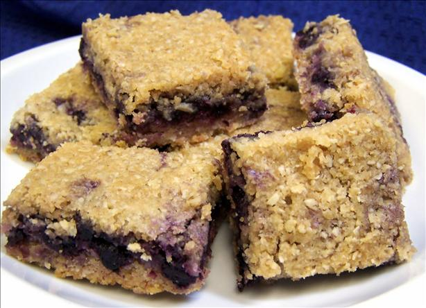 Delicious Blueberry Squares!