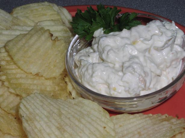 Ron's Famous Clam Dip for Purists