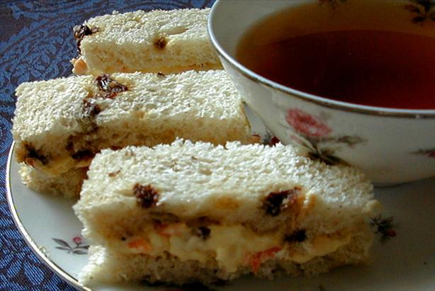 "Carrot ""Cake"" Tea Sandwiches"
