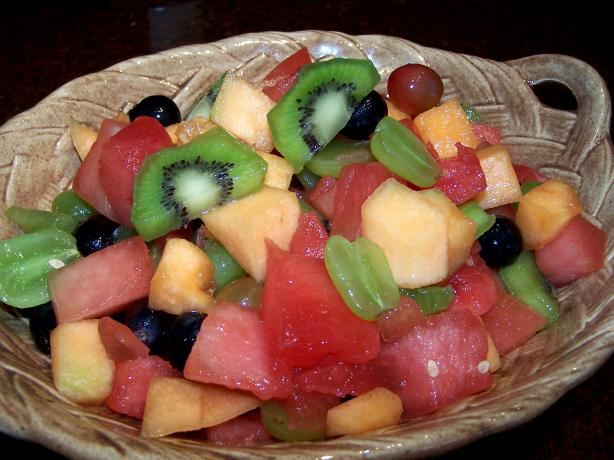 Kiwifruit Summer Fruit Salad