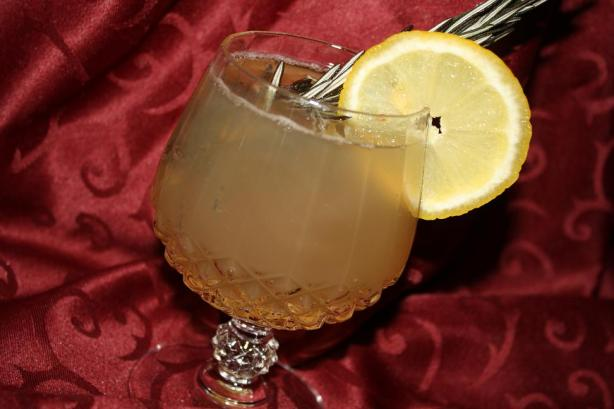Rosemary Lemon Fizz