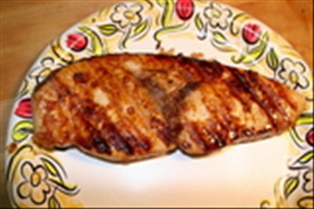 Honey Teriyaki Swordfish Steaks