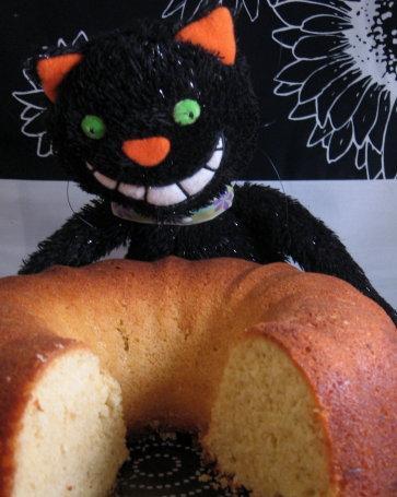 White Pepper and Ginger Lemon Cake