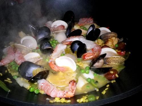 Sarasota's Spanish Paella