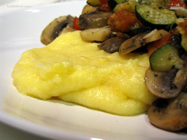 Microwave Polenta for Two