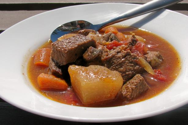 Leftover Roast Beef Stew