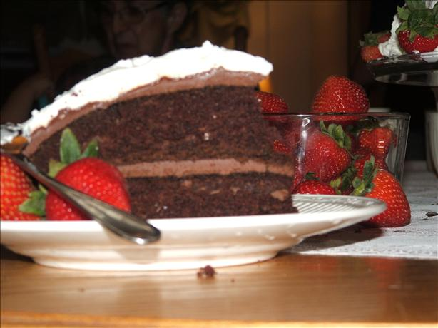 Anne of Green Gables Chocolate Goblin's Food Cake