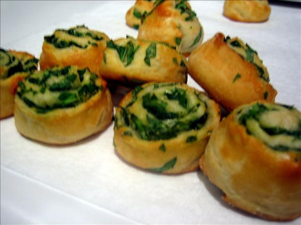 Miniature Spinach Parmesan Puffs