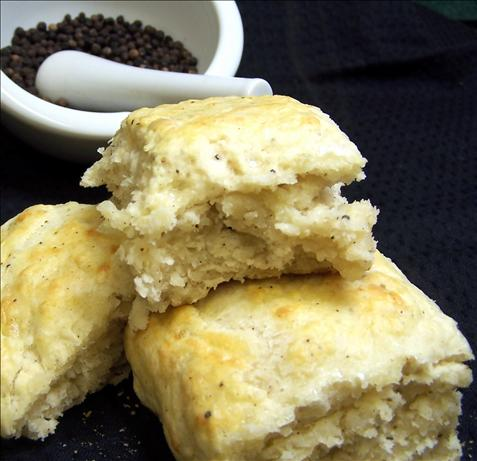 Peppery White Cheddar Biscuits