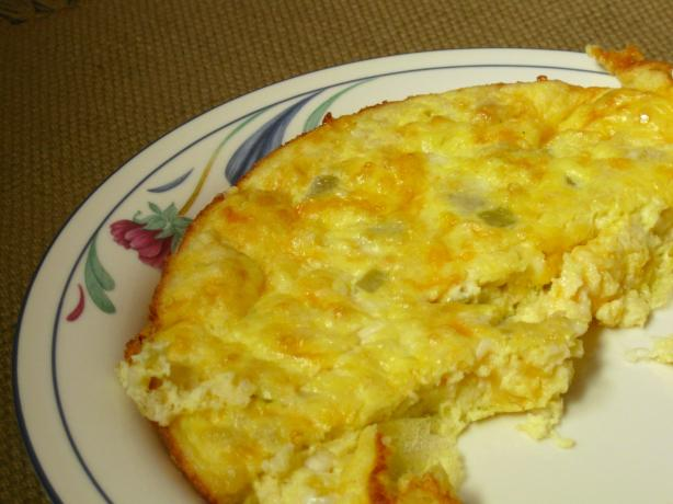 Southwestern Cheesy Eggs
