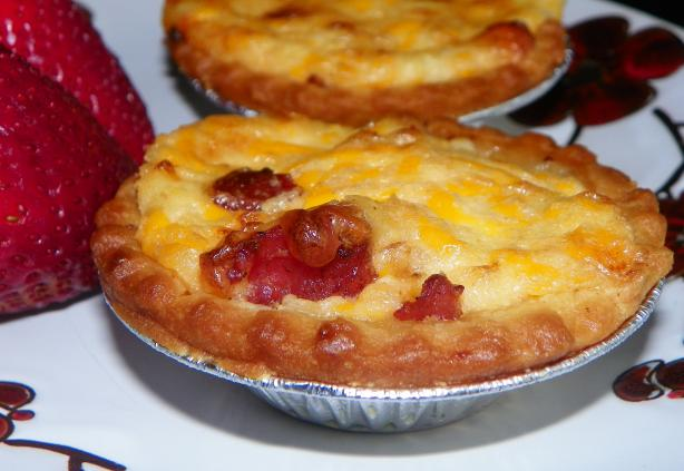 Bacon and Tomato Tarts