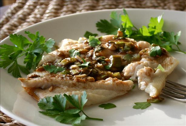 Roasted Sole Fillets