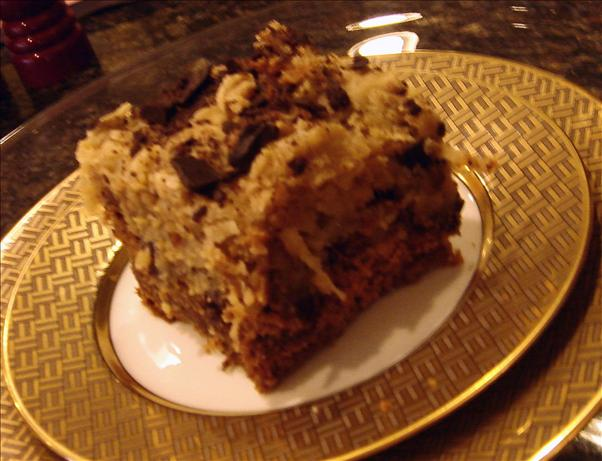 German Chocolate Cake Squares