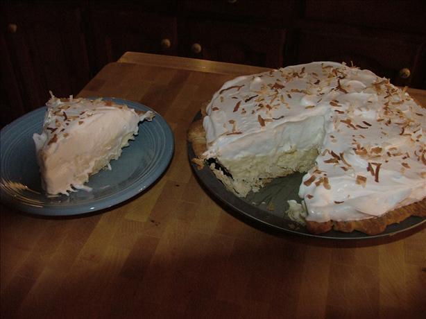 Southern Coconut Cream Pie