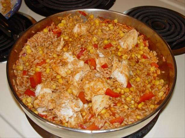 Chicken Taco Rice